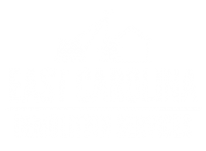 East Carolina Demo Logo all white