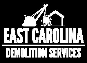 East Carolina Demo Logo all white