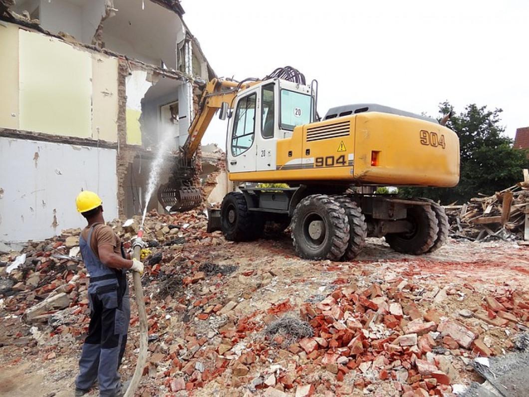Superior work ethic home demolition