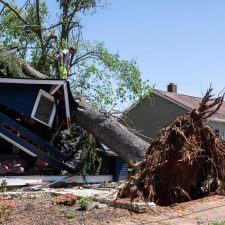 Greenville House Destroyed by Tornado